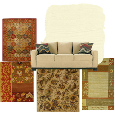Linda Living Room Rugs