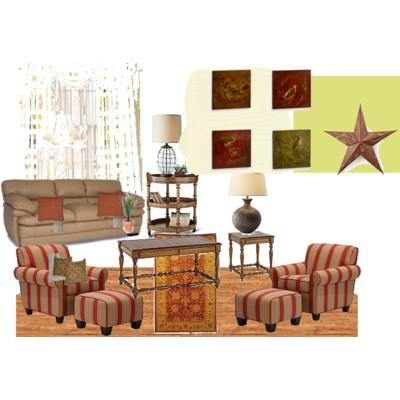 Rustic Familyroom