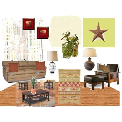 Rustic Familyroom #2