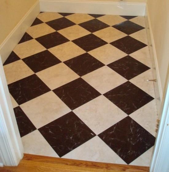 Peel & stick tiles