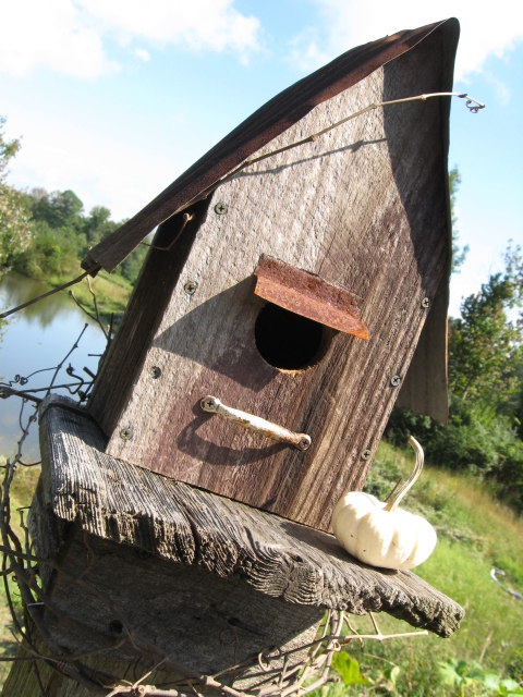 rustic birdhouse plans