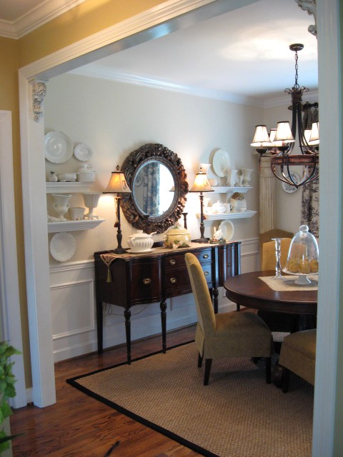 Antique White dining room