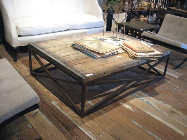 brickmakers coffee table | idi design