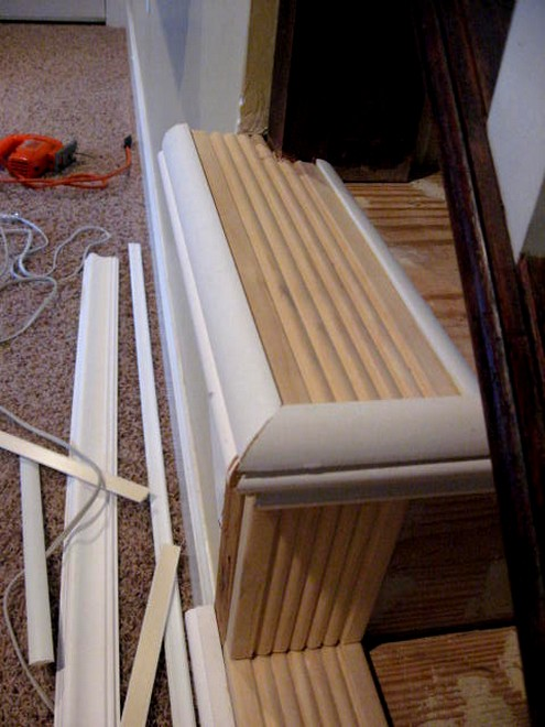 how to fix stairs with gaps