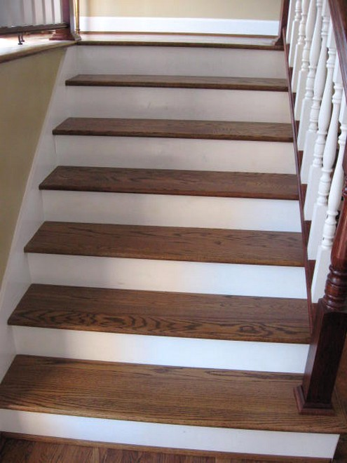 How To Paint Ugly Wooden Stairs In Your Home