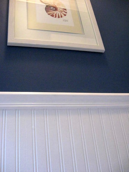 Beadboard Wallpaper In Masterbath Southern Hospitality