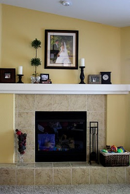 Feature Friday Brittany 39 S Fireplace Makeover Southern Hospitality