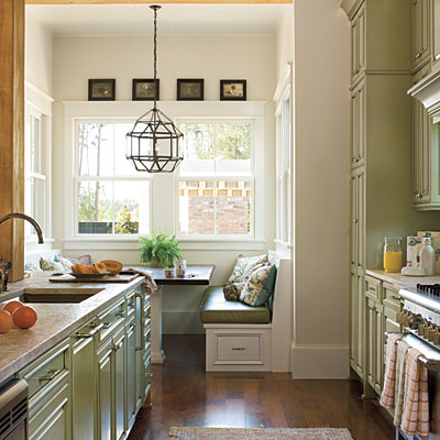 Galley Kitchen Cream Cabinets ~ Modern Design Pictures