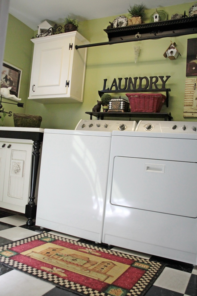 Lime Green Laundry Room on family room paint colors