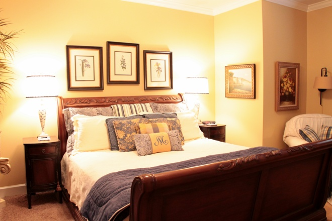 Master Bedroom and Bath - Southern Hospitality