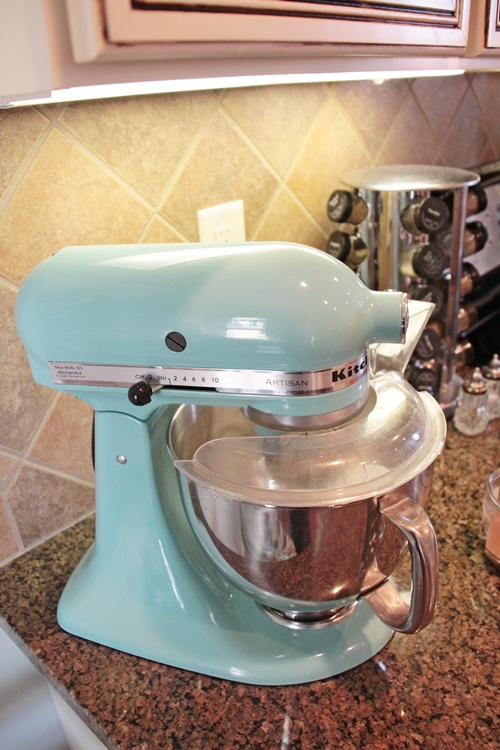 This Kitchen Aid Mixer Is A Piece Of Art On The Countertops.