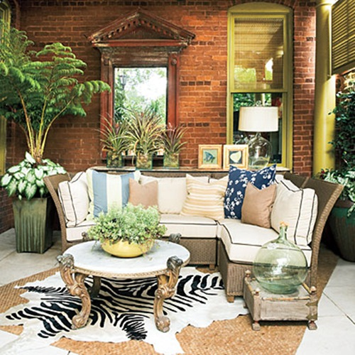 Breezy summer porches from southern living southern hospitality Southern home decor on pinterest