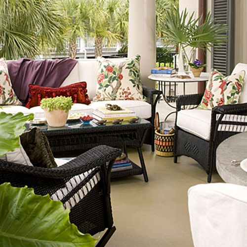 Courtyard Patio Spaces Are So Inviting Too. I Love This Type Of Look So  Much.
