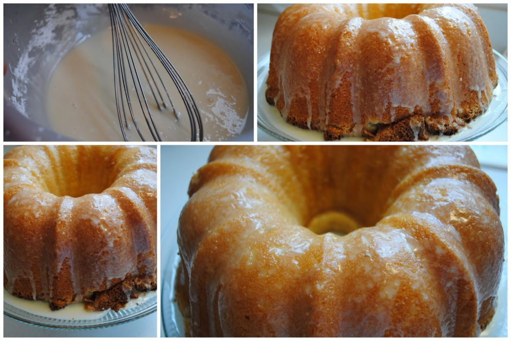 Pound Cake Glaze Powdered Sugar