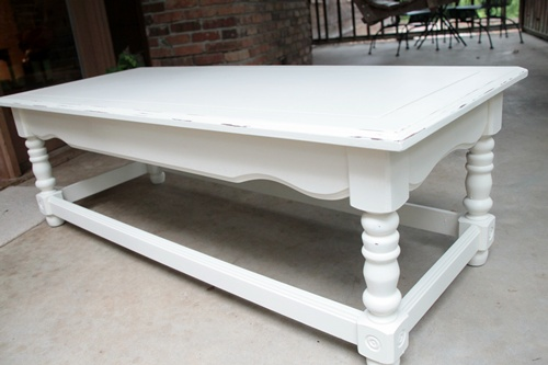 coffee table revamp & kilz primer giveaway - southern hospitality