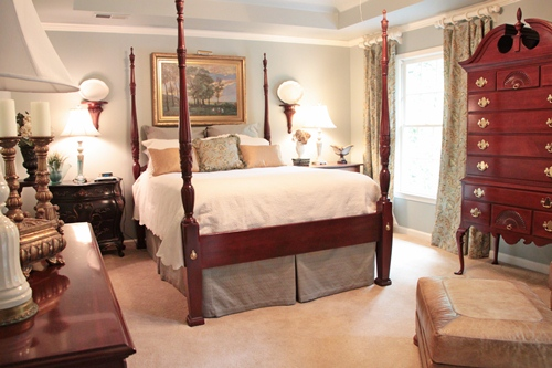Feature Friday: Ruby's Renovated Bedroom - Southern Hospitality