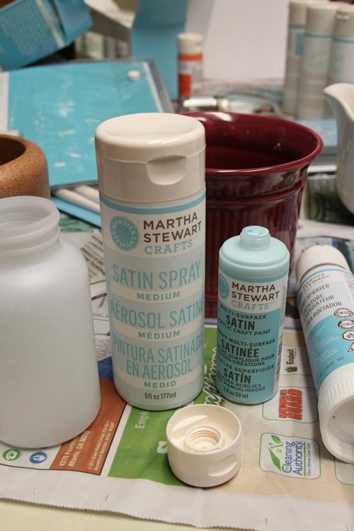 martha stewart crafts decorative paint line by plaid. Black Bedroom Furniture Sets. Home Design Ideas
