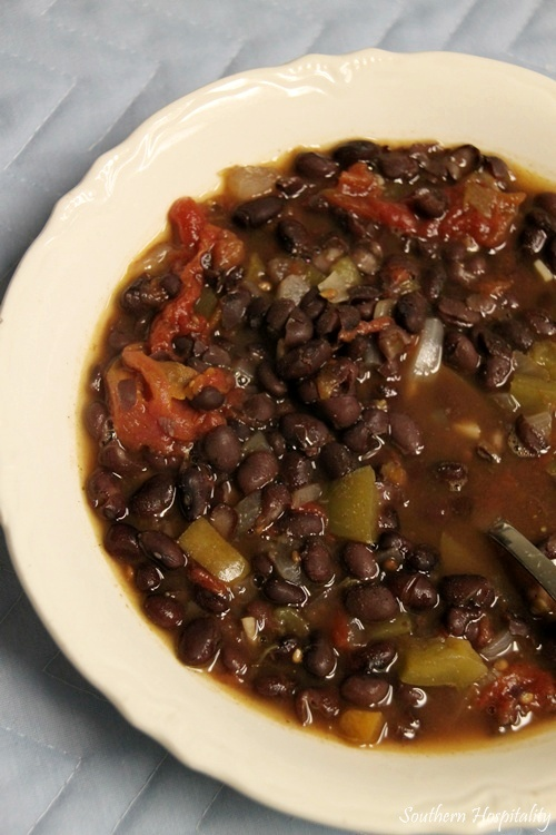 Black Bean Soup with Knorr Chicken Concentrate - Southern Hospitality