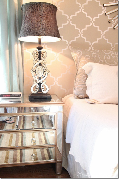 Tj Maxx Rugs >> Glam Master Bedroom Source List - Southern Hospitality