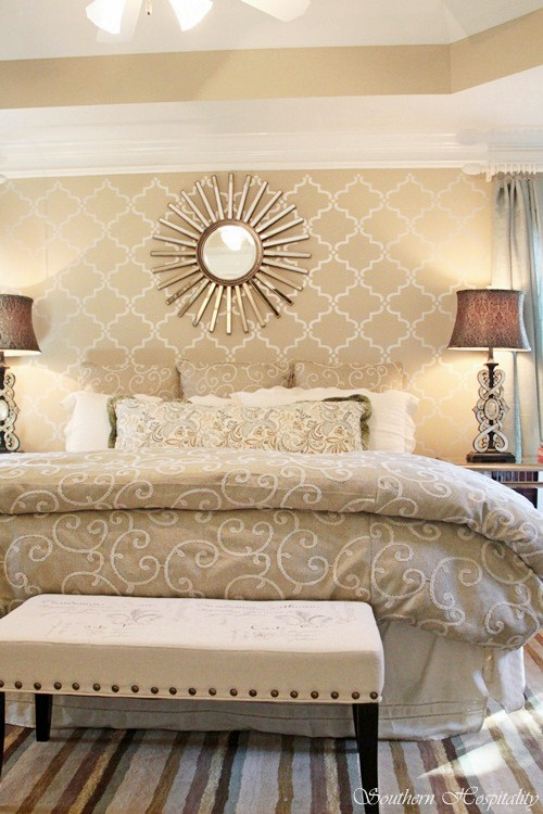 Welcome to the New Century: Modern Glam Master Bedroom - Southern ...