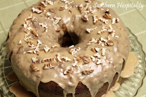 Apple-Cream Cheese Bundt Cake - Southern Hospitality