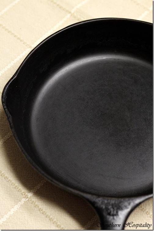 black skillet
