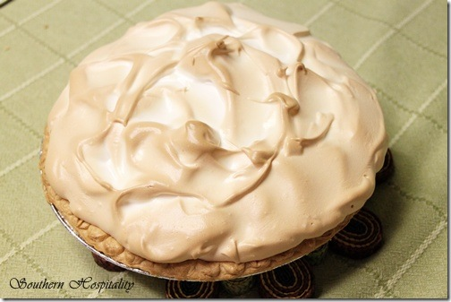 Lemon Meringue Pie with Meyer Lemons - Southern Hospitality