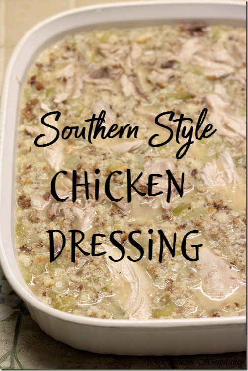 Southern chicken and dressing