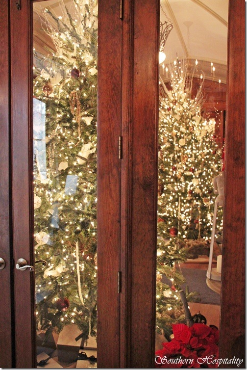 Foyer Trees Callanwolde