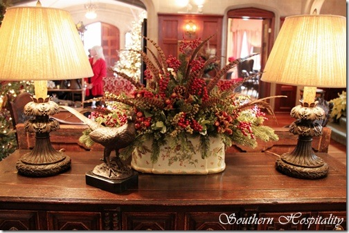 Foyer table lamps