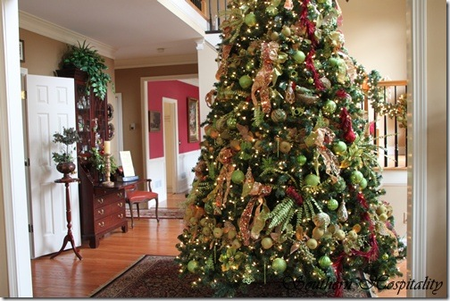 feature friday rubys big and festive foyer tree - Big Christmas Trees