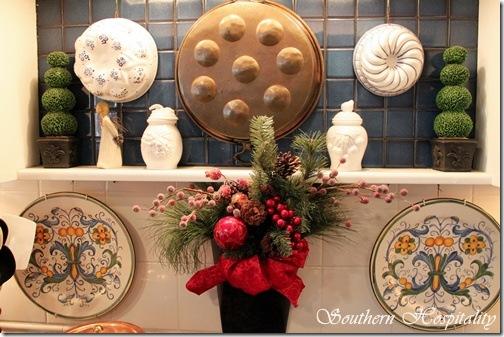 kitchen stove Christmas