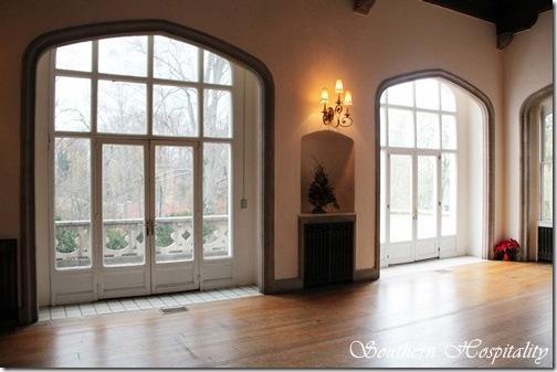 winter living room windows