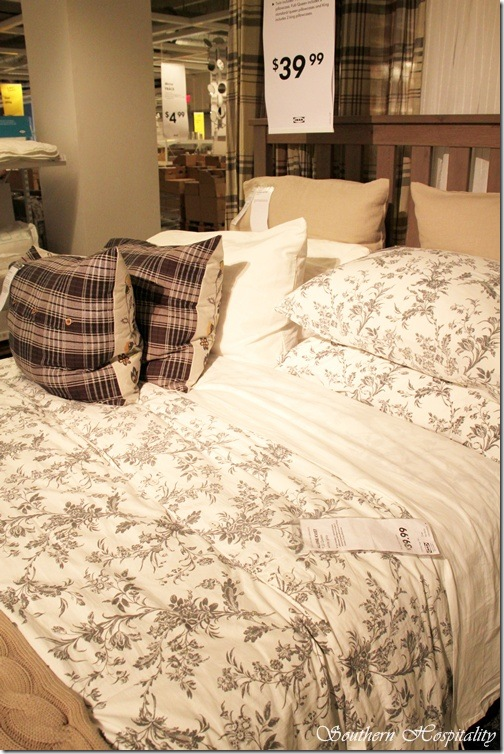 Ikea bedding