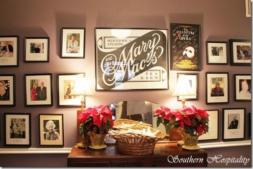 Mary Macs wall of photos
