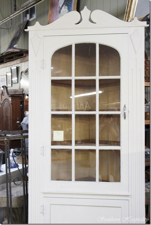 Antique White Corner Cabinet Furniture - Antique White Corner Curio Cabinet - Corner Designs