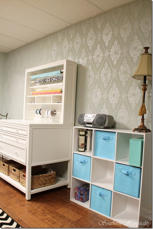 Craft Room Update And 100 Lowes Giveaway Southern