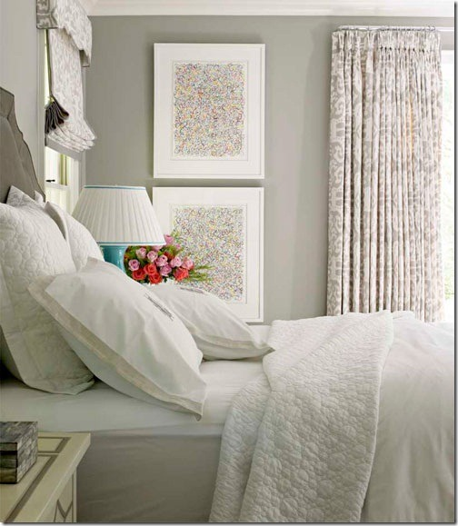 Bedroom Curtains Calming Bedroom Colors Sherwin Williams Bedroom Design Ideas White Interior Design Drawings Perspective Bedroom: Feature Friday: House Beautiful 1940's Cottage Update