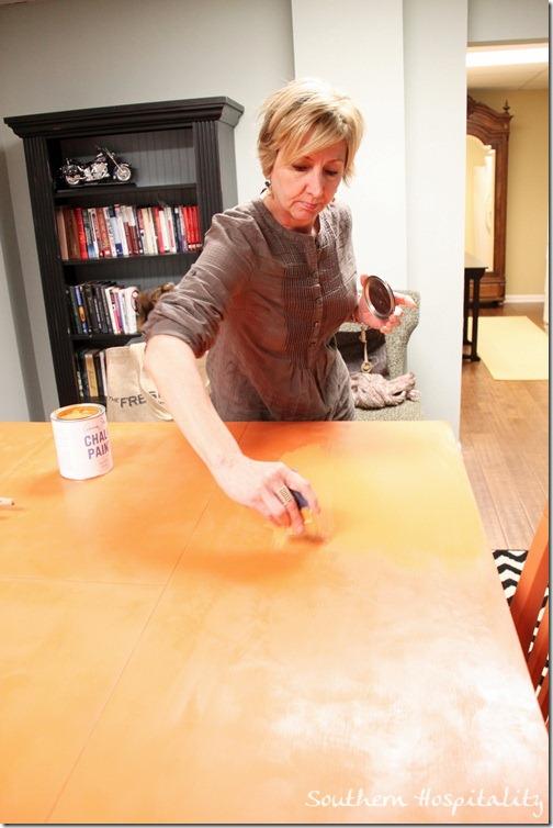 repainting tabletop