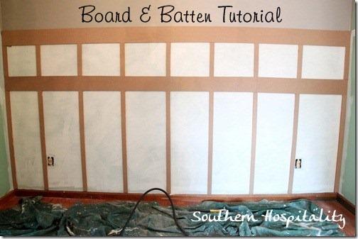 board and batten tutorial