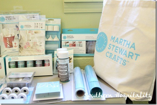 Martha Stewart paint supplies