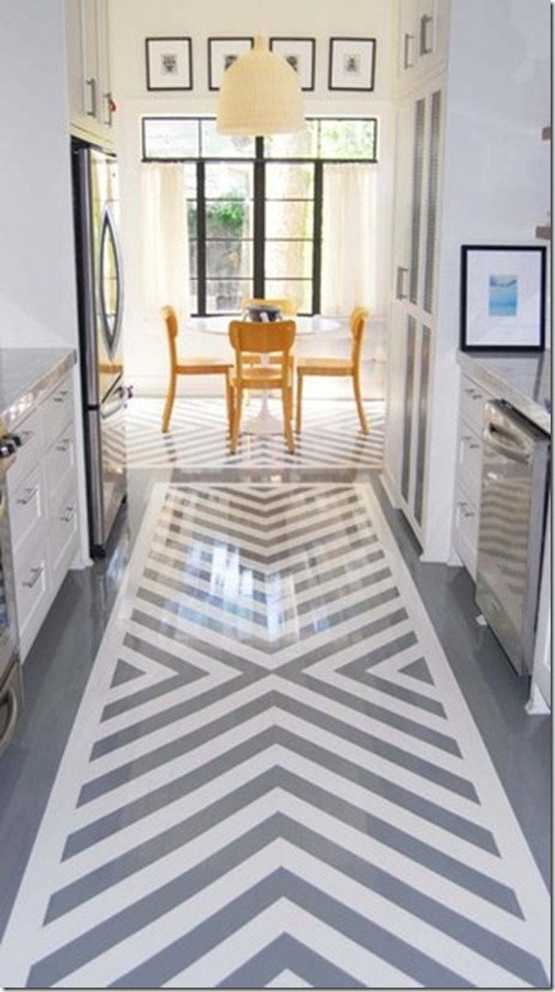 apartmenttherapy - Painted Wood Floors Ideas