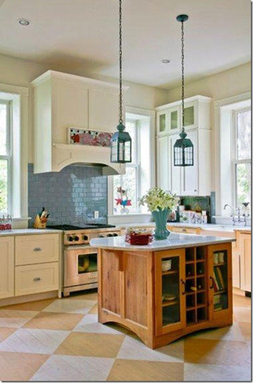 Painted Kitchen Floor Ideas Part - 29: Painted Wood Floors Ideas