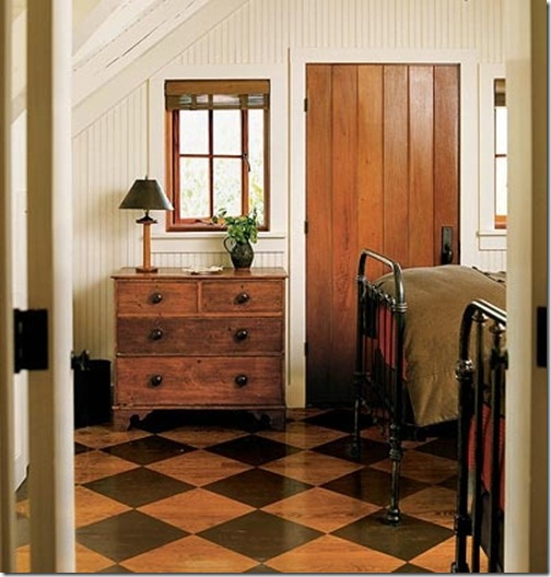 Painting Wooden Floors: Painted Wood Floors Ideas