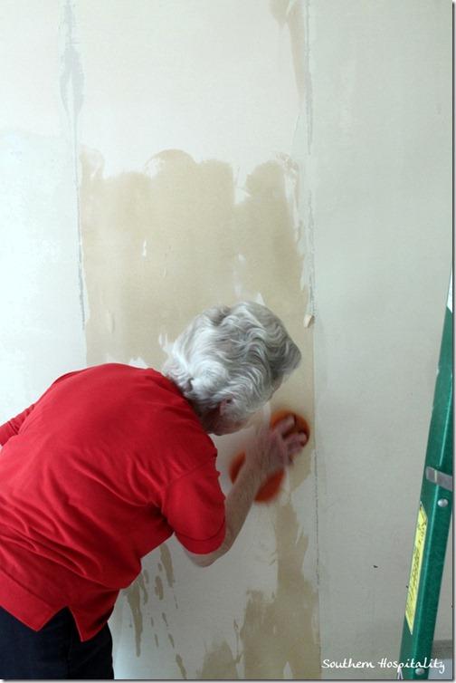 stripping wallpaper