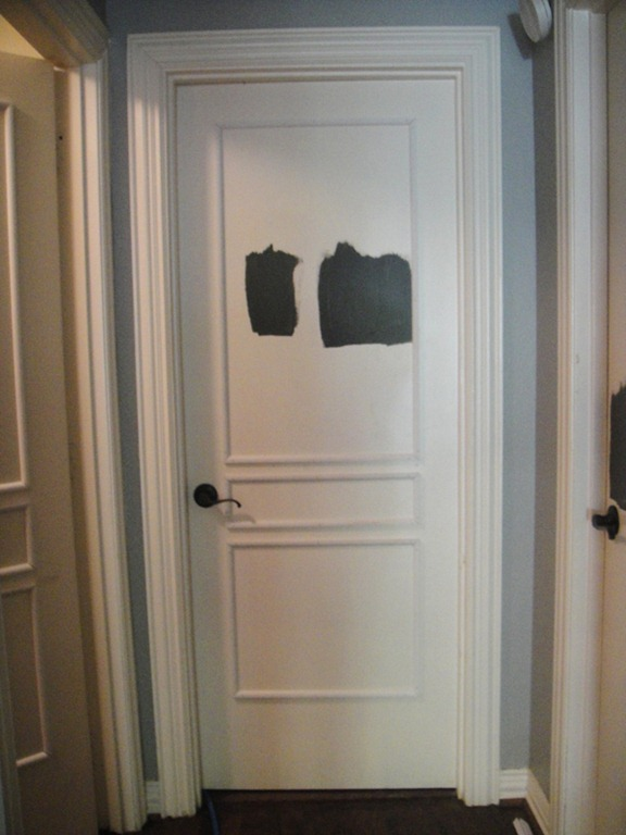 But once I saw how gorge Emily's doors turned out by adding molding ...
