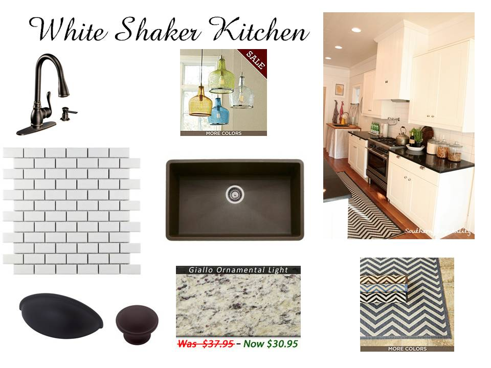 White Shaker Kitchen - Ikea Shaker Kitchen