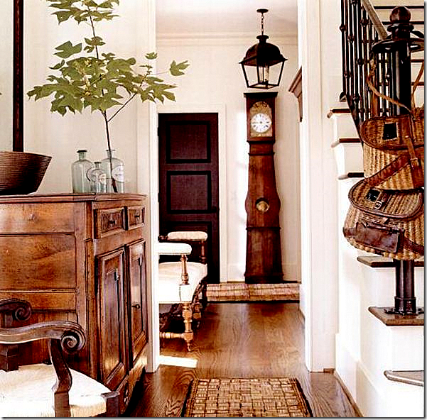 Black Foyer Doors : Painting interior doors black southern hospitality