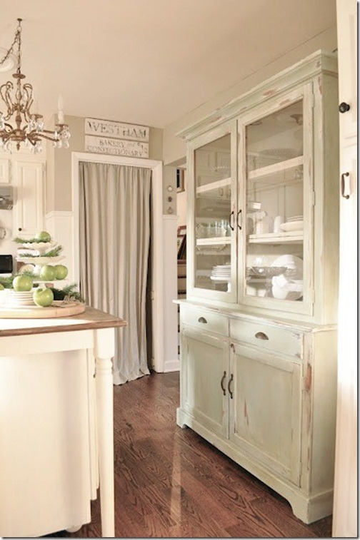 Remarkable White Kitchen Cabinets with Hutch 504 x 757 · 91 kB · jpeg