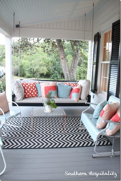 219 for Small porch swing ideas